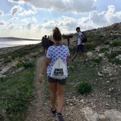 Studentka z plecakiem WNPiSM makes perfect trips