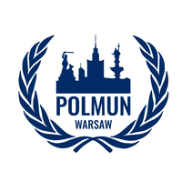 Logotyp POLMUN Warsaw - Poland's oldest Model United Nations