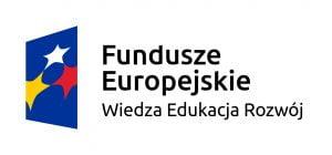 Logotyp Fundusze Europejskie Wiedza Edukacja Rozwój