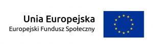 Logotyp Europejski Fundusz Społeczny