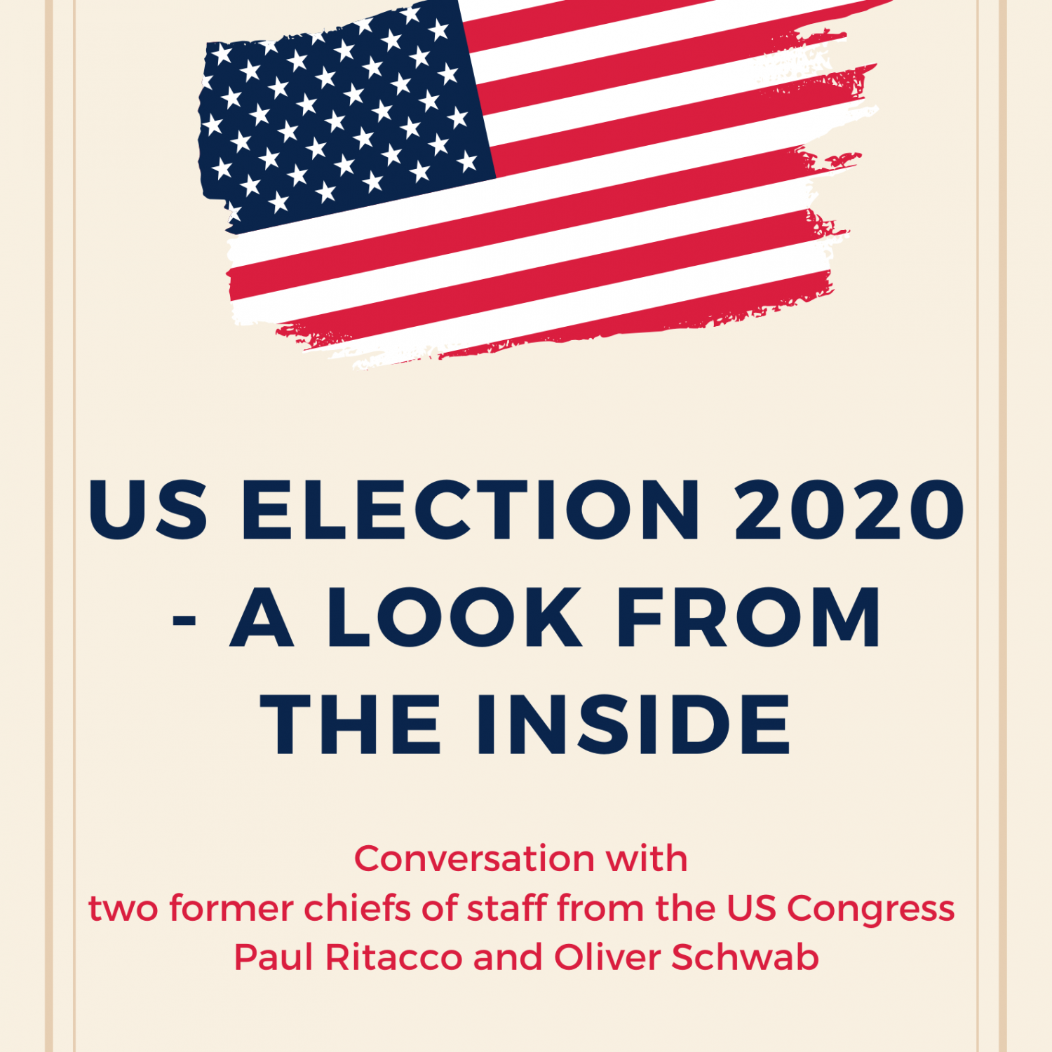 US ELECTION 2020 - a look from the inside - conversation